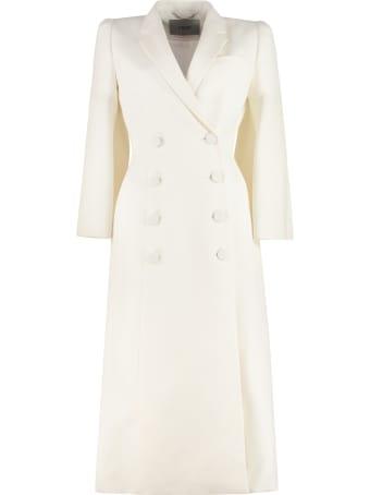 Fendi Wool Blend Double-breasted Coat