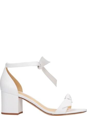 Alexandre Birman Sandals In White Leather