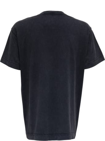 Givenchy Black Oversize Cotton T-shirt With Print