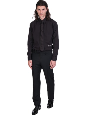 Givenchy Shirt In Black Cotton