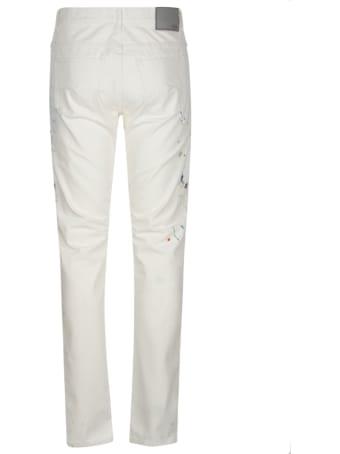 Christian Dior Paint Splash Slim Jeans