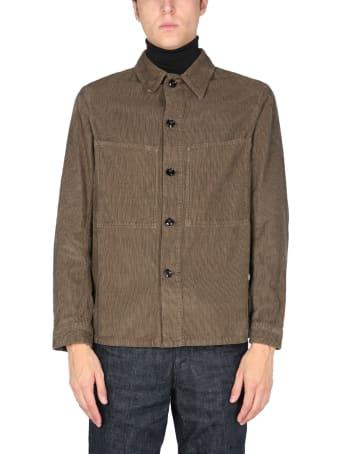Lemaire Velvet Shirt