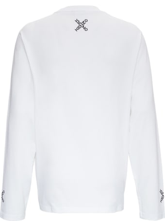 Kenzo Cotton Skate Shirt With Logo