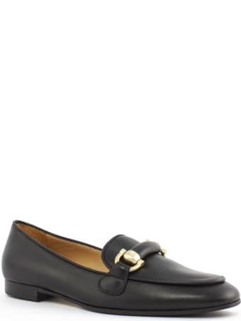 Roberto Festa Angie Black Leather Loafer