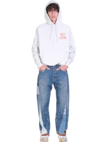 Gallery Dept. Sweatshirt In Grey Cotton