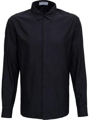 Marine Serre Black Cotton Moon Shirt