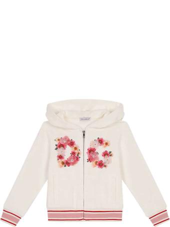 Dolce & Gabbana White Sweatshirt