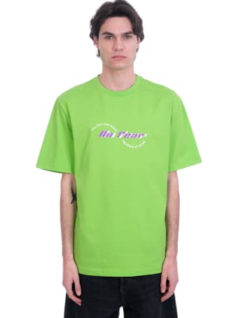 Daily Paper T-shirt In Green Cotton