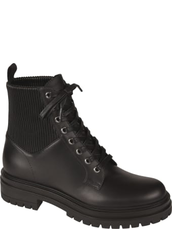Gianvito Rossi Martis Lace-up Boots