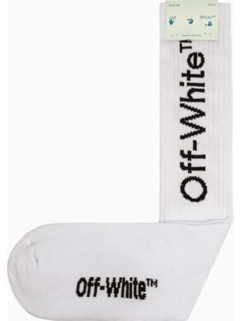 Off-White Arrows Mid Length Socks Omra001f21kni003
