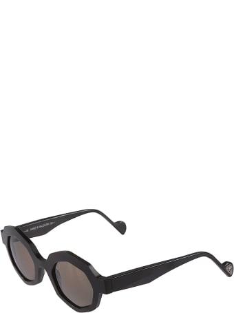 Anne & Valentin Swinton Octagon Frame Sunglasses