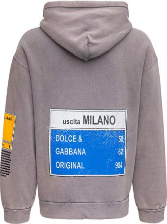 Dolce & Gabbana Felpa Leo Flock