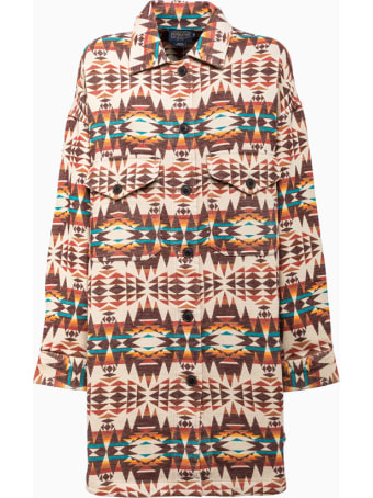 Pendleton Oversized Jacket In Cotton Tm44969785