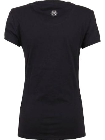 Philipp Plein T-shirt Round Neck Ss Teddy Bear