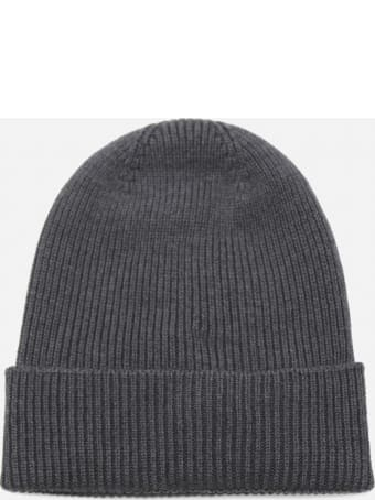 Moncler Wool Hat With Logo Patch
