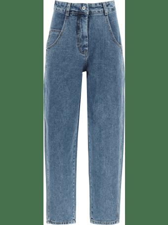 Low Classic Boyfriend Jeans With High Waist