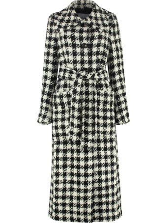 Rodebjer Brooklyn Houndstooth Coat