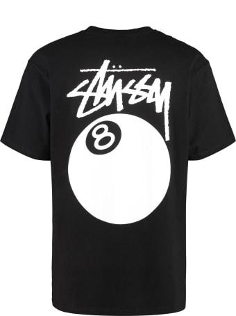 Stussy Cotton Crew-neck T-shirt