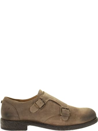 OXS Steve 1050 - Suede Shoe With Buckles