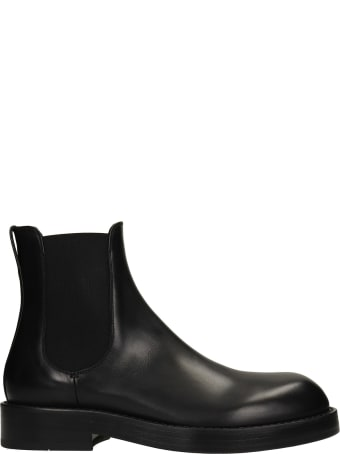 Ann Demeulemeester Stef Ankle Boots In Black Leather