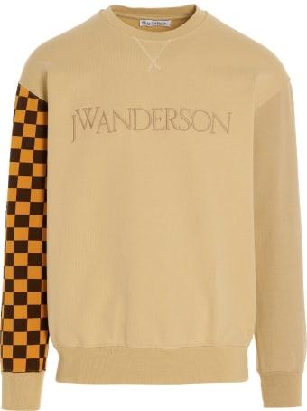 J.W. Anderson Felpa 'colorblock Logo Sweatshirt' Sweatshirt