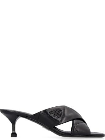 Prada Leather Mules