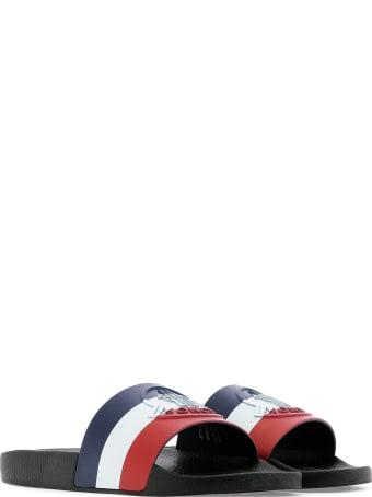 Moncler Moncler Logo Embossed Slides