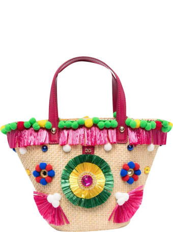 Dolce & Gabbana Bag With Multicolor Applications