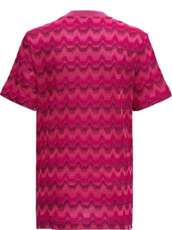 M Missoni Zig Zag Cotton Blend T-shirt