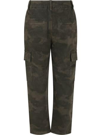Dondup Green Pants For Boy