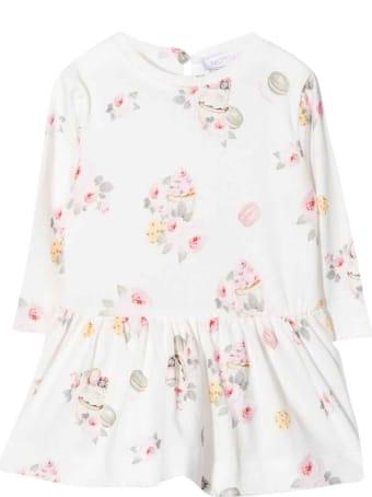 Monnalisa White Girl Dress