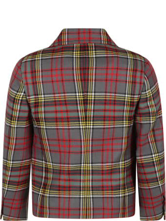 Philosophy di Lorenzo Serafini Multicolor Jacket For Girl With Logo