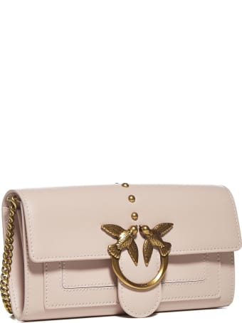 Pinko Love Simply 3 Leather Wallet Bag