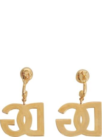 Dolce & Gabbana Earrings With Dg Logo