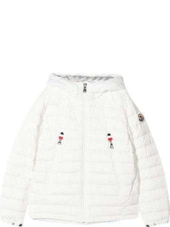 Moncler White Down Jacket