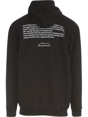 Throwback Sweatshirt Bat Printing
