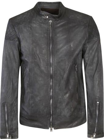 S.W.O.R.D 6.6.44 Vintage Effect Leather Jacket