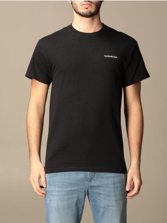 Backsideclub T-shirt Logo Backsideclub T-shirt In Cotton With Print