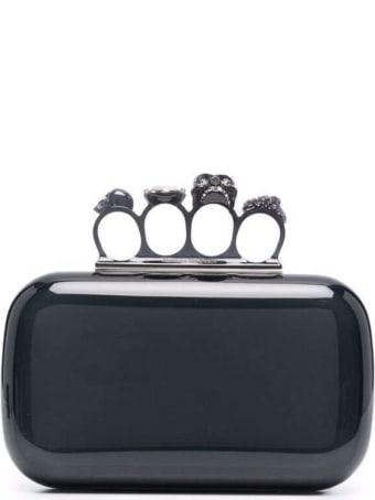 Alexander McQueen Fuor Ring Pvc Handbag
