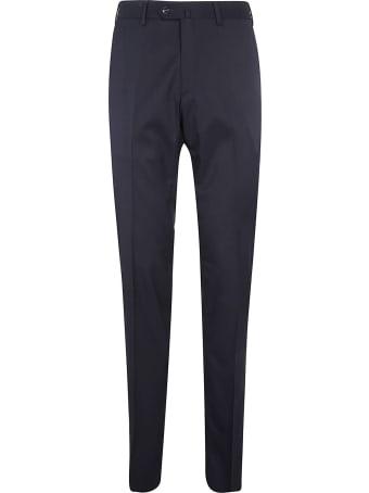 Loro Piana Flat Slim Soft Flannel Trousers