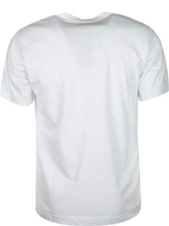 Comme des Garçons Centre Logo Print Regular T-shirt