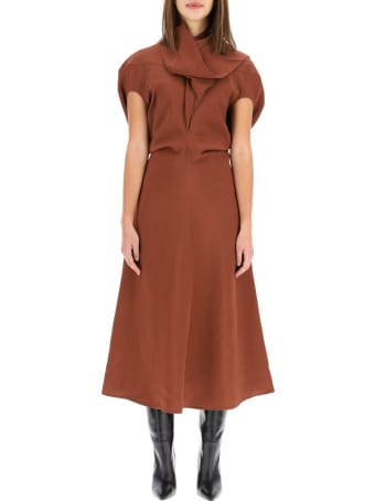 Colville Dress With Scarf