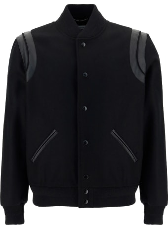 Saint Laurent Teddy Parka Coat