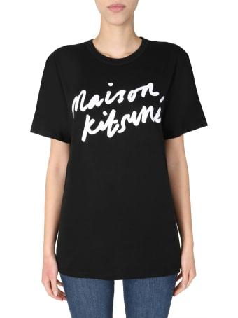 Maison Kitsuné Crew Neck T-shirt