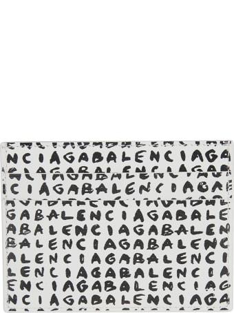 Balenciaga Logo Cash Card Holder