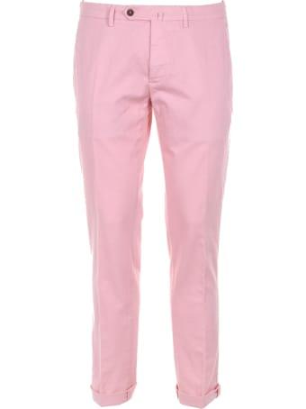 Siviglia Pants In Cotton Blend Linen