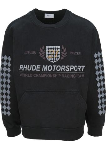 Rhude Motor Crest Crew