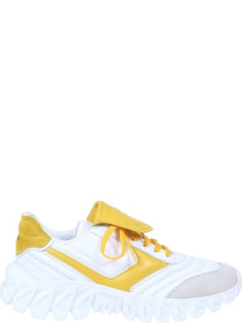 Pantofola D'Oro Sneaker Ball In Leather And Suede