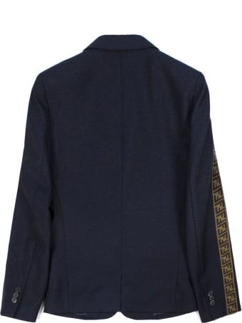 Fendi Navy Wool Blazer