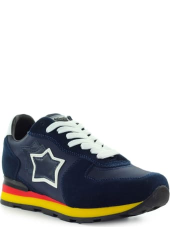 Atlantic Stars Antares Navy Blue Sneaker
